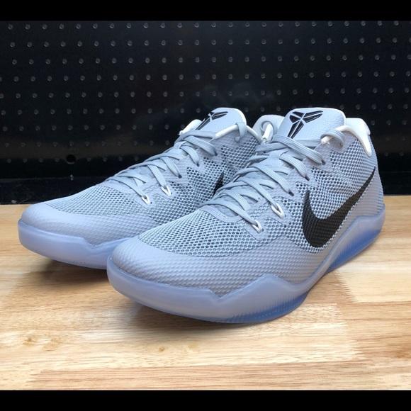 6de7352e4a9318 Nike Kobe 11 XI TB Team Bank Promo Gray Wolf